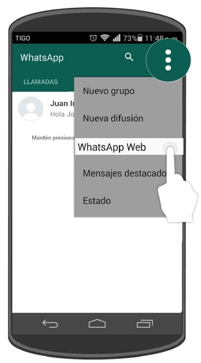 espiando whatsapp